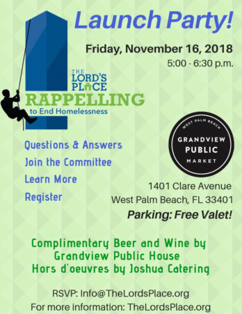 Rappelling To End Homelessness! SAVE THE DATE FEBRUARY 2nd, 2019!