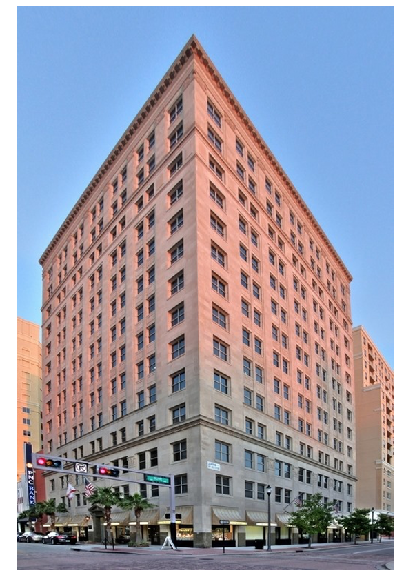 Popular Downtown West Palm Beach Central Business District Property, The Harvey Building, Hosts Historic Charm With Today's Modern Conveniences
