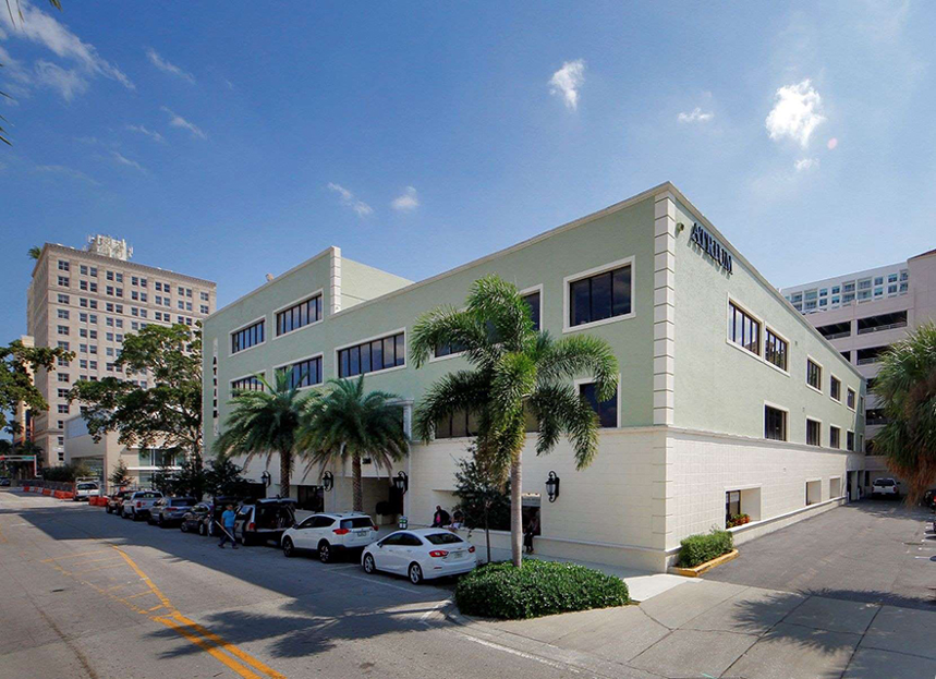 The Atrium Building Located in the Central Business District in Downtown West Palm Beach Offers A Wide Range of Popular Office Spaces For Immediate Move-In