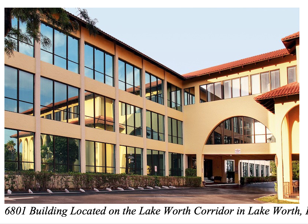 The 6801 Building Is Lake Worth Corridor's Go-To For Professional Medical Space