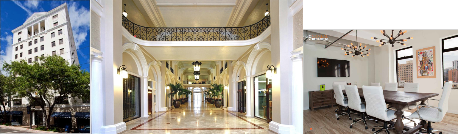 Downtown West Palm Beach Hosts The Comeau Building Offering Office Space  For Lease With Stunning Views